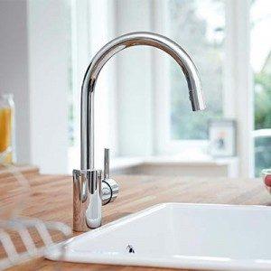 Robinet d 39 vier grohe la qualit allemande mon robinet for Les robinets de cuisine