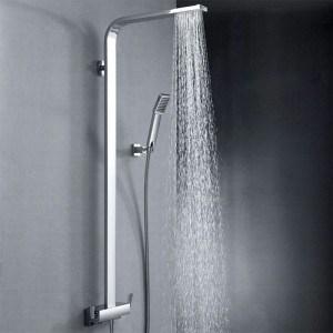 Choisir sa colonne de douche design pas cher mon robinet - Colonne de douche blanche design ...