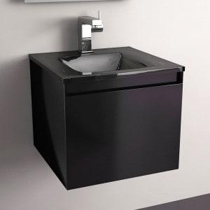 Meuble sous lavabo ou vasque pour salle de bain mon robinet for Cirer ou vernir un meuble