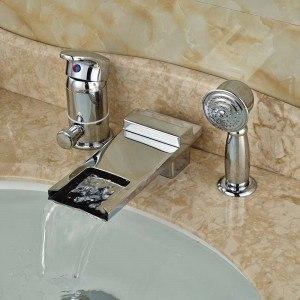 robinet haut ou long bec pour la baignoire mon robinet. Black Bedroom Furniture Sets. Home Design Ideas