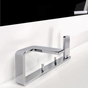 Robinet horizontal ou vertical pour baignoire mon robinet for Robinet design salle de bain