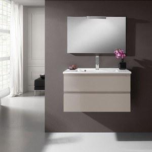 Meuble design pour lavabo et salle de bain mon robinet - Meubles de salle de bain soldes ...