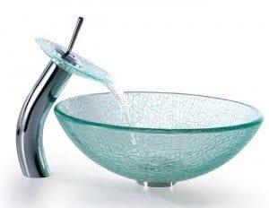 Robinet pour vasque en verre comment choisir mon robinet - Verdubbelen vasque en verre ...