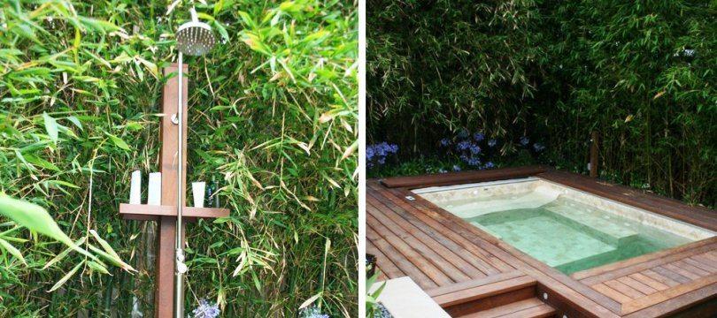 Douche solaire ext rieure sur mon mon robinet for Douche de piscine exterieur
