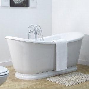 Baignoire ilot comment choisir mon robinet for Marque de baignoire